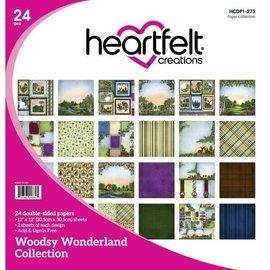Heartfelt Creations Woodsy Wonderland, 12 Designs/2 Each