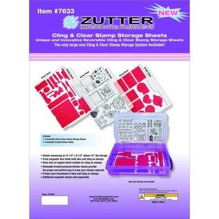 Zutter Zutter Cling & Clear Stamp Storage System Refills