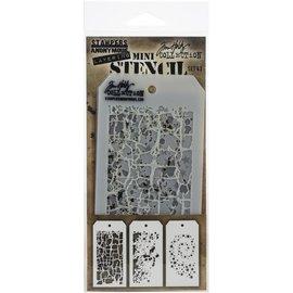 Tim Holtz Tim Holtz Mini Layered Stencil Set 43