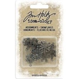 Tim Holtz Idea-Ology Metal Adornments 9/Pkg