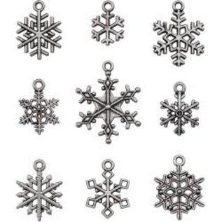 Tim Holtz Idea-Ology Metal Adornments 9/Pkg