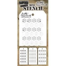 Tim Holtz Tim Holtz Mini Layered Stencil Set 45