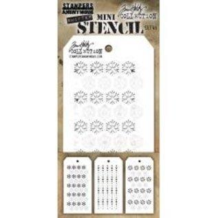 Tim Holtz Tim Holtz Mini Layered Stencil Set 45