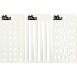 Tim Holtz Tim Holtz Mini Layered Stencil Set 36