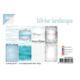 Joy! crafts Winter landscape A4