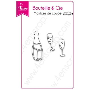 4enscrap Die - making drink wishes - Bottle & Co