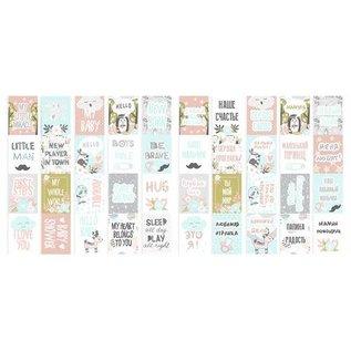 """Fabrika Decoru Double-sided paper set """"Scandi Baby Boy"""""""
