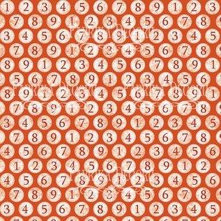 """Fabrika Decoru Double-sided paper set """"cool school"""""""