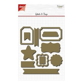 Joy! crafts Noor - One of a kind labels assorti