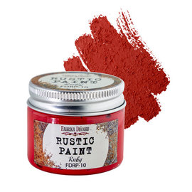 Fabrika Decoru RUSTIC PAINT. COLOR RUBY