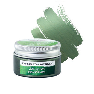 Fabrika Decoru METALLIC CHAMELEON PAINT. COLOR SEA GREEN