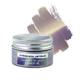 Fabrika Decoru METALLIC CHAMELEON PAINT. COLOR LAVENDER IN GOLD