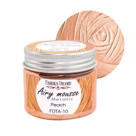 Fabrika Decoru AIRY MOUSSE METALLIC. COLOR PEACH