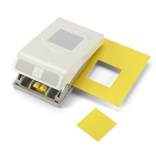 "LeCrea EK tools large punch 1.5""square 3.91cm"