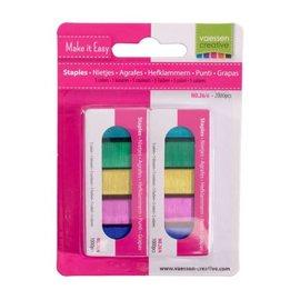 Vaessen Nietjes 5 kleuren 2000pcs