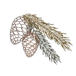 Sizzix Sizzix • Thinlits die set 4pk pine branch