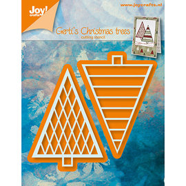 Joy! crafts Gertis Kerstbomen 1