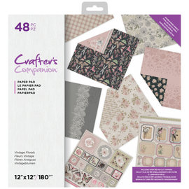 Crafters Companion Crafter's Companion  - Vintage Florals - 48 double sized