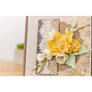 Crafters Companion Floral Foam - Bloemen pastel kleuren