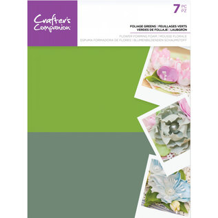 Crafters Companion Floral Foam - Blad groen