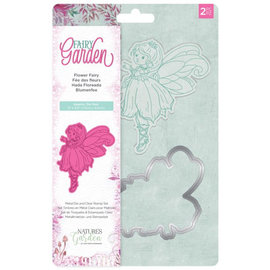 Fairy Garden - Clearstamp en snijmallen set - Flower Fairy