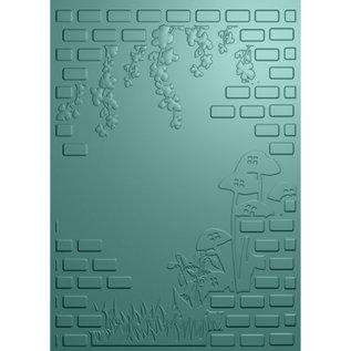Fairy Garden - 3D Emboss folder - Hidden Garden