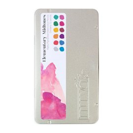 Nuvo Nuvo Watercolor Pencils -Elementary Midtones - 12/Pkg