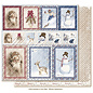 "Maja Design Maja Designs ""Holiday In The Alps"" Winter Ephemera 12""x12"""