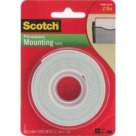 """Mounting tape  .5""""X75"""""""