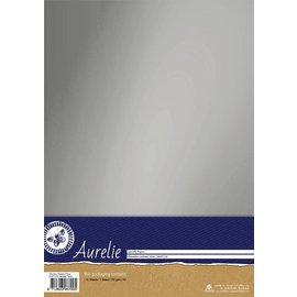 Aurelie Aurelie Chromolux Cardstock Silver  10 vellen