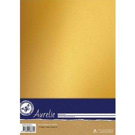 Aurelie Aurelie Sparkling Cardstock Gold  10 vellen