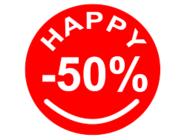 SOLDEN 50%