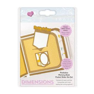 Tonic Studios Tonic Studios • Dimensions die set peekaboo slider