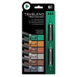 Spectrum Noir Triblend - Woodland Shades (Bosland Shades) a 6 stuks