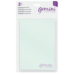 Gemini Gemini Jr Accessoires - Transparante snijplaten voor dubbelzijdige snijmallen