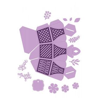 Gemini Gemini Dimensional snijmal - Honeycomb Favour Box (Present doosje)