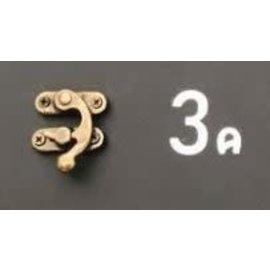 Cart 'n Scrap Art Bronskleurig metalen slotje n°3A