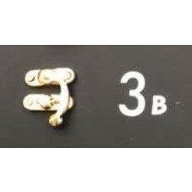 Cart 'n Scrap Art Zilverkleurig metalen slotje n°3B