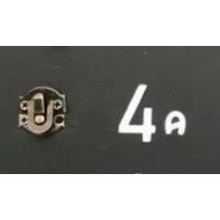 Cart 'n Scrap Art Bronskleurig metalen slotje n°4A