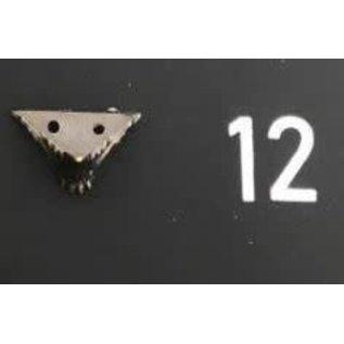 Cart 'n Scrap Art Bronskleurige metalen pootjes n°12 - 4 stuks