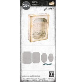 Tim Holtz Tim Holtz Sizzix CURIO BOX Bigz XL with Framelits Dies
