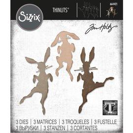 Tim Holtz Tim Holtz Sizzix BUNNY HOP Thinlits Die Set
