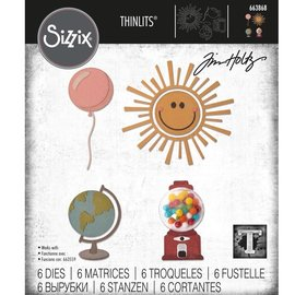 Tim Holtz Tim Holtz Sizzix CIRCLE PLAY Thinlits Die Set