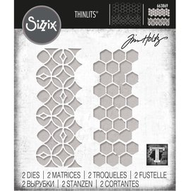 Tim Holtz Tim Holtz Sizzix PATTERN REPEAT Thinlits Die Set