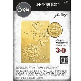 Tim Holtz Tim Holtz Sizzix ROSES 3D Texture Fades Embossing Folder