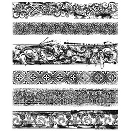 Tim Holtz Tim Holtz Cling Stamp Eclectic Edges