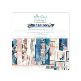 "Mintay Mintay ""Harmony""  6"" x 6""  - 24 double sided"