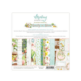 "Mintay Mintay ""Beauty in Bloom"" 24 double sided - 6"" x 6"""