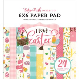 "Echo Park I Love Easter Double-Sided Paper Pad 6""X6"" 24/Pkg"