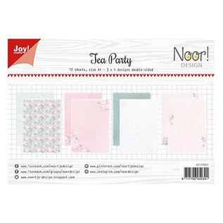 Joy! crafts Noor - Design Tea Party A4 2x5 design sheets